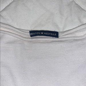 White long sleeve Brandy Melville shirt